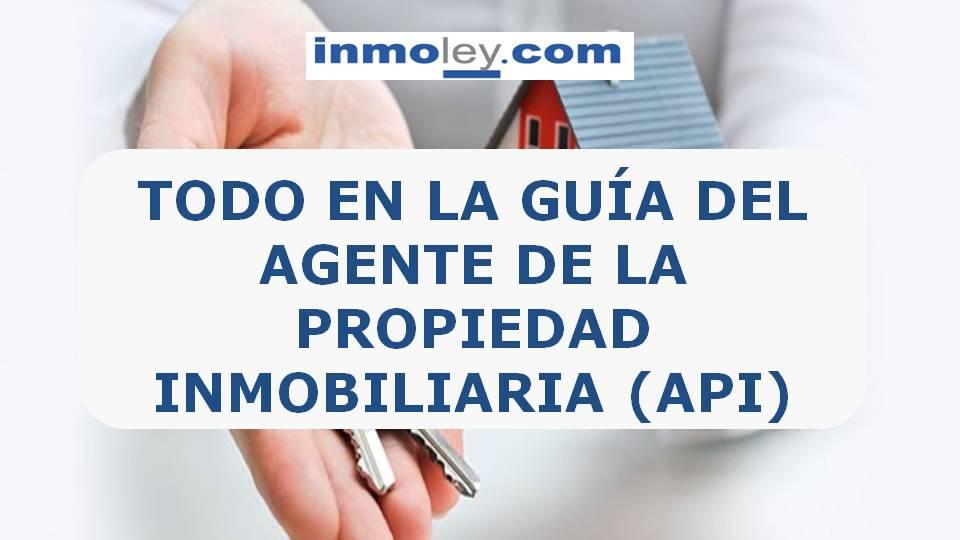 AGENTE DE LA PROPIEDAD INMOBILIARIA.