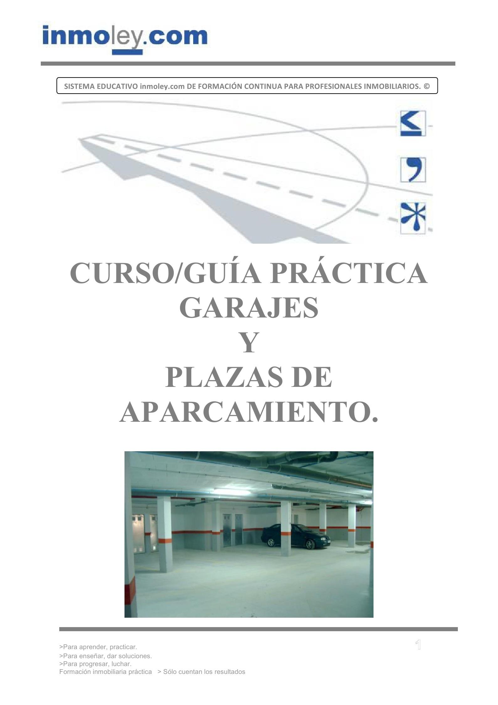 Garajes plazas de garaje contrato de garaje - Contrato de alquiler de garaje ...