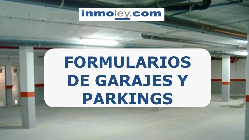 Garajes plazas de garaje contrato de garaje for Garajes modelos