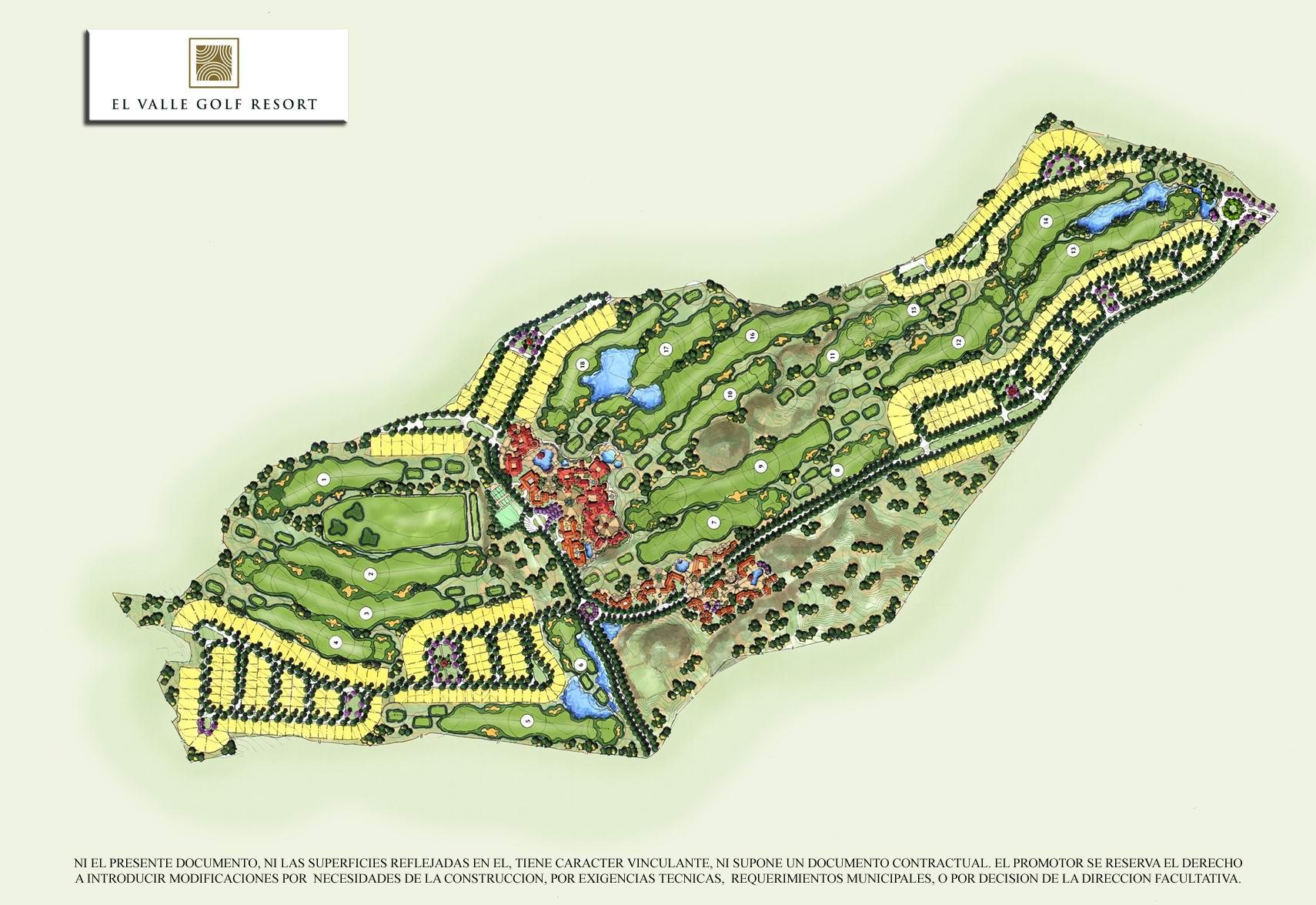 ley de campos de golf comunidad valenciana: