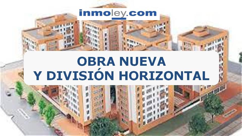 obra nueva divisi n horizontal