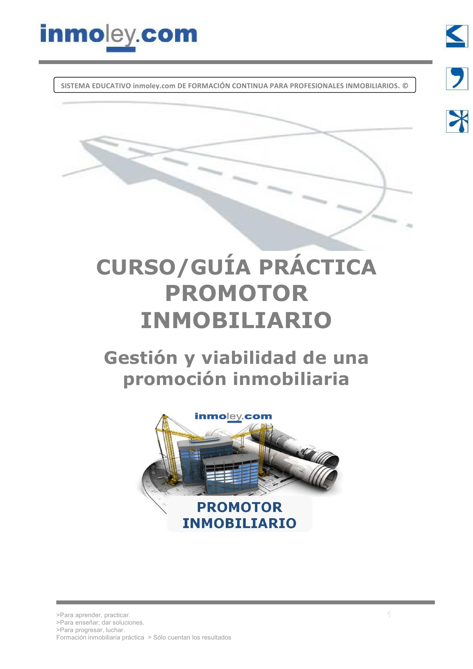 Promotor inmobiliario promoci n inmobiliaria for Promocion inmobiliaria